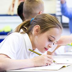 Grundschüler in Sprachnot